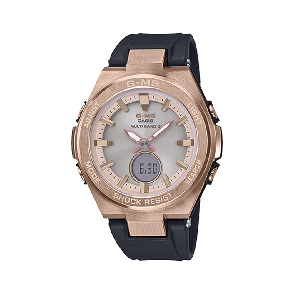 ベイビージー BABY-G 腕時計 BG・18S G-MS 電波ソーラーLウォッチ MSG-W200G-1A1JF  ギフトラッピング無料 ラッキーシール対応