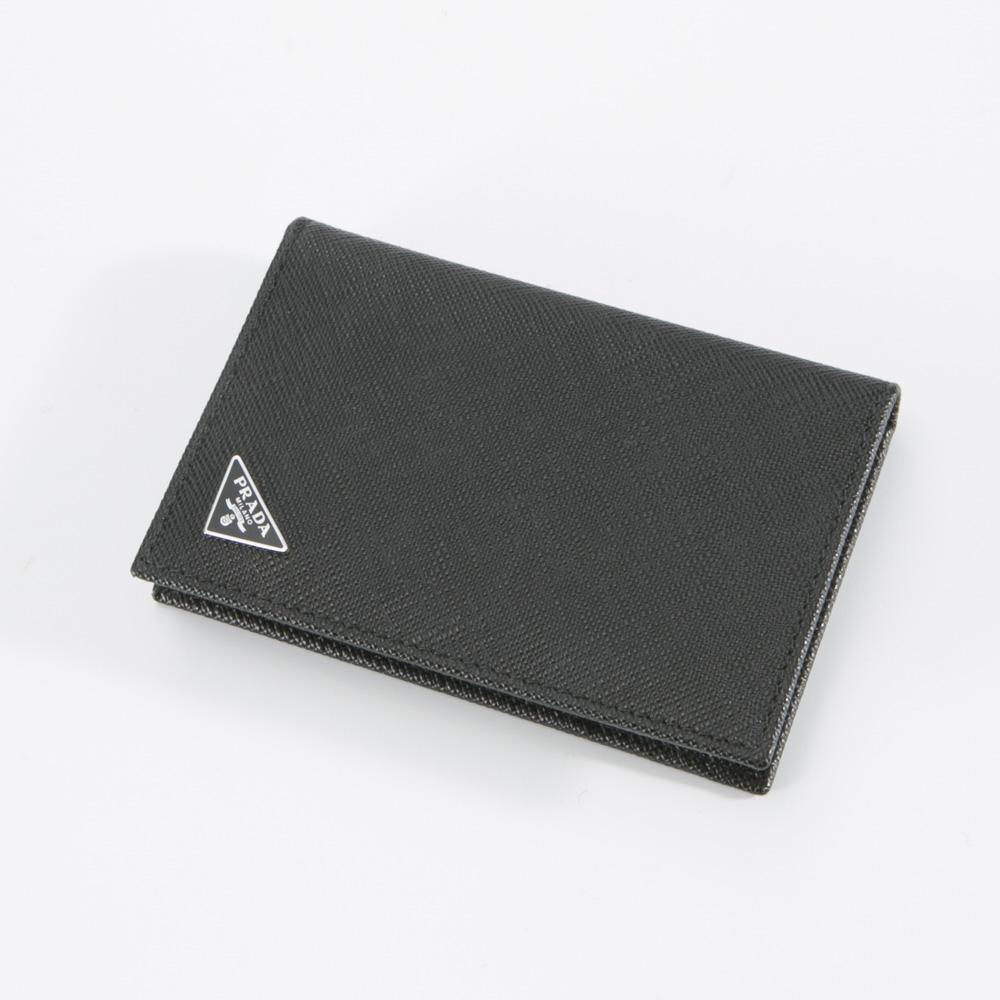 【8月1日-2日★クーポン配布中】プラダ PRADA カードケース SAF.TRIANGOLOカードケース/NERO 2MC101-QHH  ギフトラッピング無料