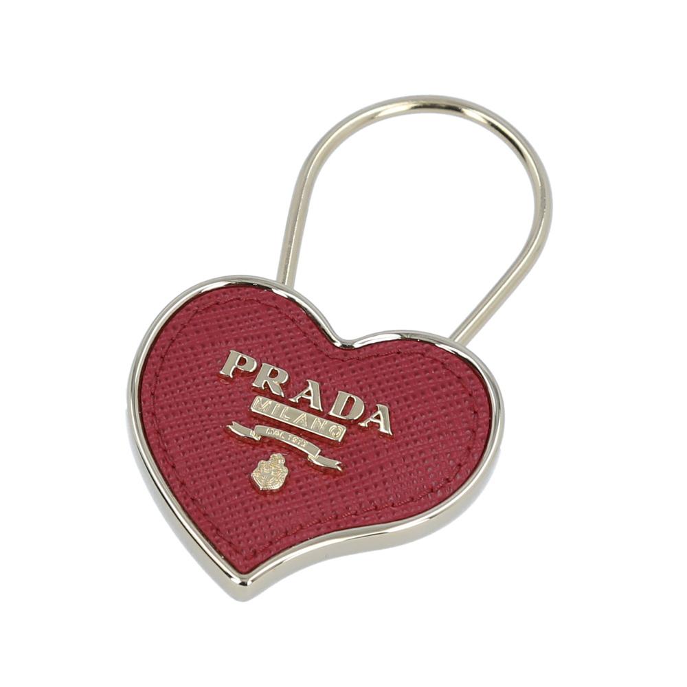 【5月4日-7日★ポイント5倍】プラダ PRADA キーリング SAF.HEARTキーリング 1PP047-053  ギフトラッピング無料 ラッキーシール対応
