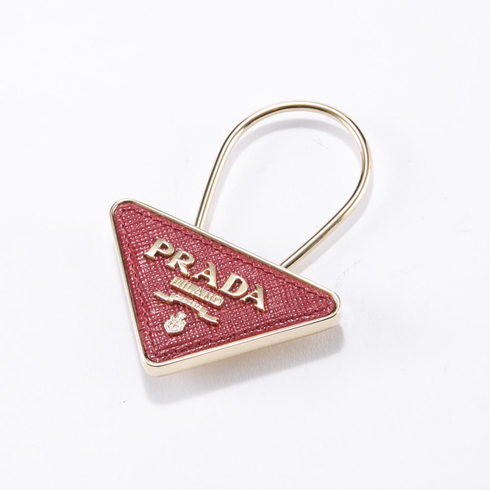 プラダ PRADA キーリング SAF.TRIANGOLOキーリング/FUOCO 1PP301-053  ギフトラッピング無料