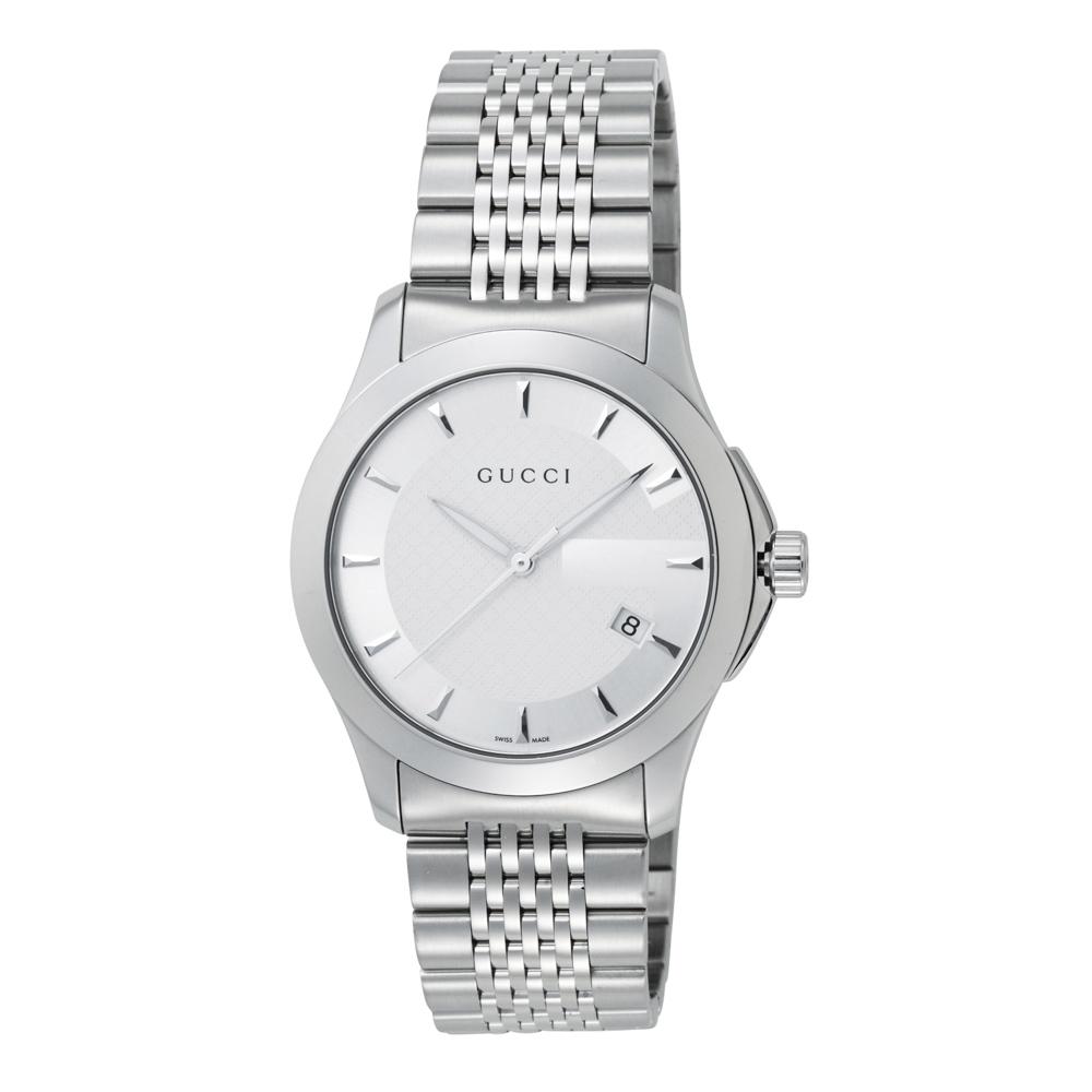 グッチ GUCCI 腕時計 ラウンドデイトステンレスMウォッチ YA126401  ギフトラッピング無料 ラッキーシール対応