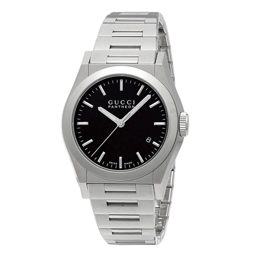 グッチ GUCCI 腕時計 PANTHEONラウンドステンベルトM YA115423  ギフトラッピング無料 ラッキーシール対応