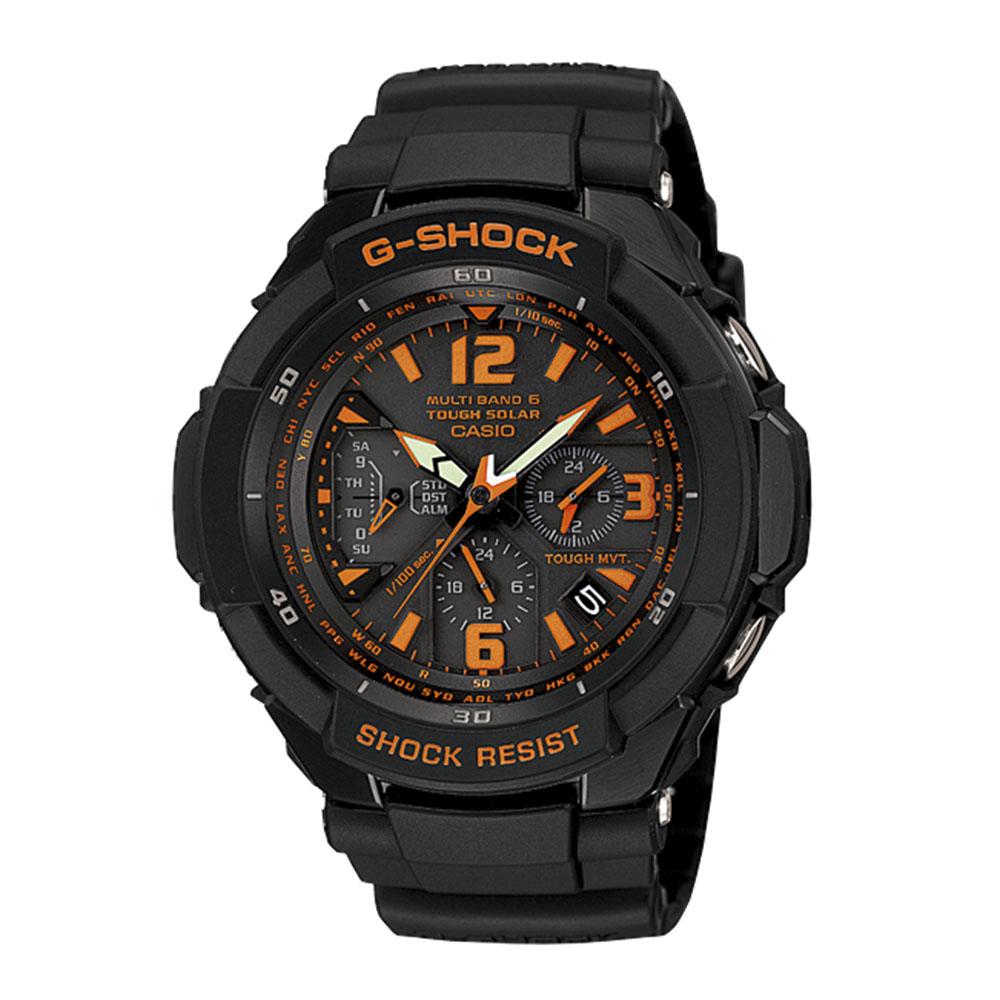 ジーショック G-SHOCK 腕時計 (SKYCOKPIT)電波ソーラーMウォッチ GW-3000B-1AJF  ギフトラッピング無料 ラッキーシール対応
