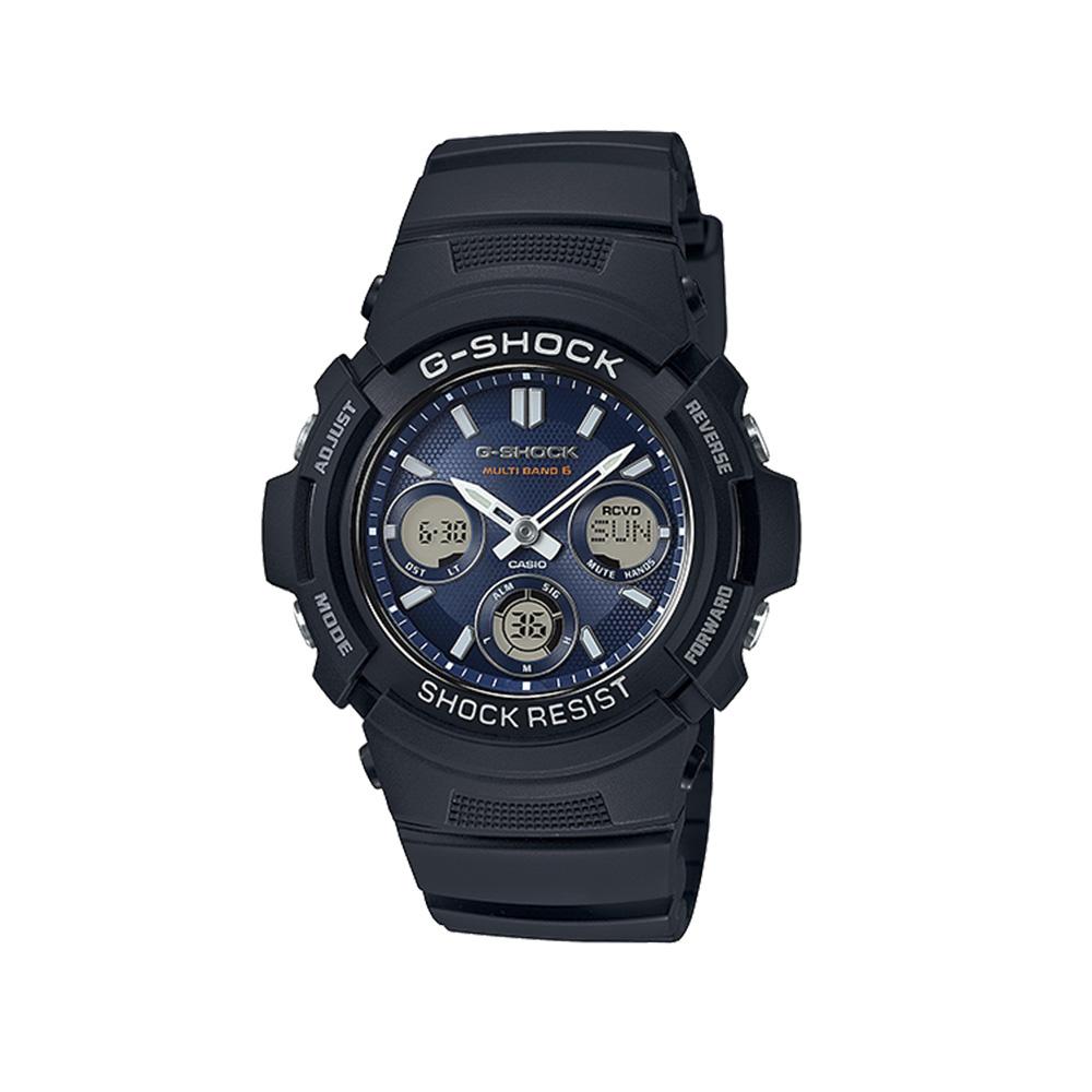 ジーショック G-SHOCK 腕時計 マルチバンド6アナデジ電波ソーラーM AWG-M100SB-2AJF  ギフトラッピング無料 ラッキーシール対応