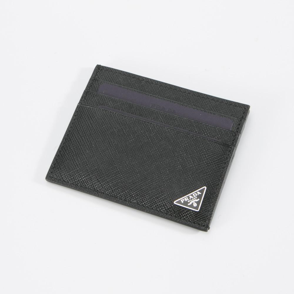 プラダ PRADA カードケース SAF.TRIANGOLOカードケース/NERO 2MC223-QHH  ギフトラッピング無料
