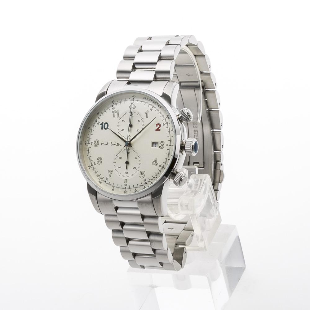ポールスミス Paul Smith 腕時計 BLOCK 43mmクロノステンMウォッチ P10142  ギフトラッピング無料 ラッキーシール対応