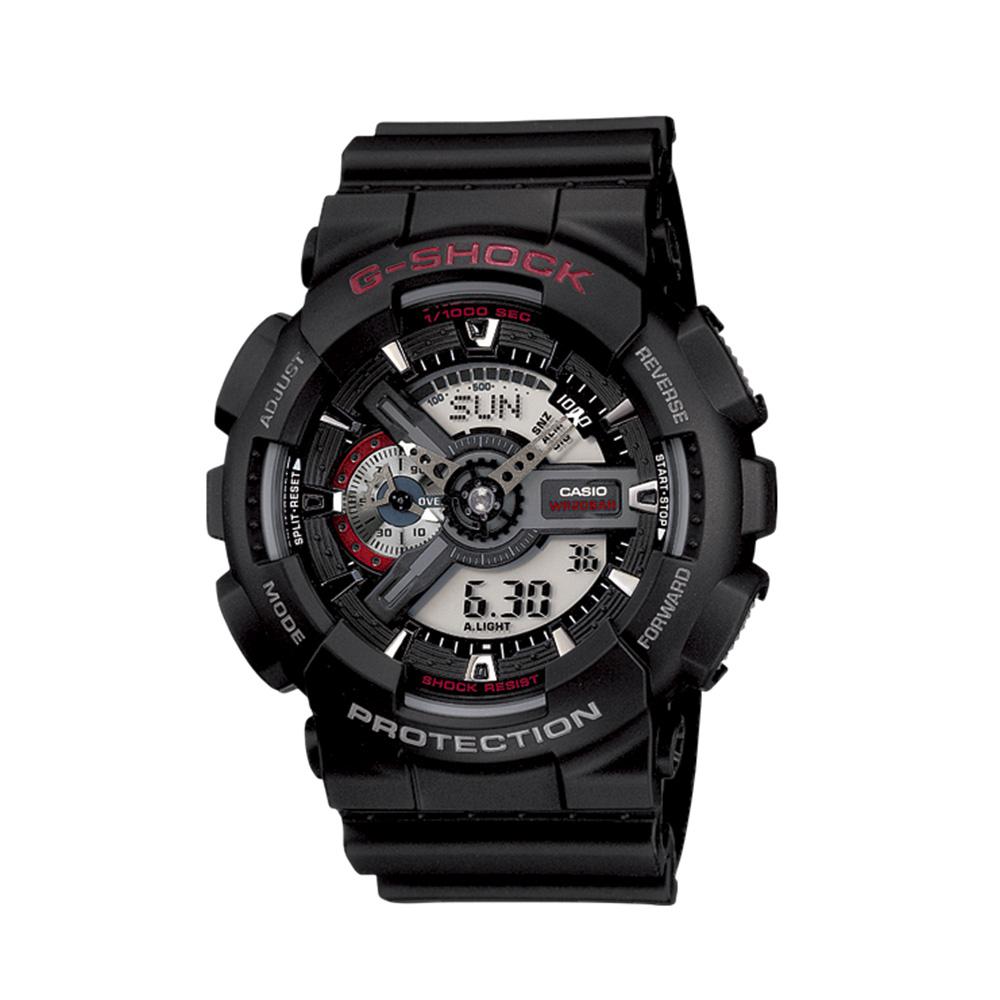 ジーショック G-SHOCK 腕時計 110アナデジMウォッチ GA-110-1AJF  ギフトラッピング無料 ラッキーシール対応