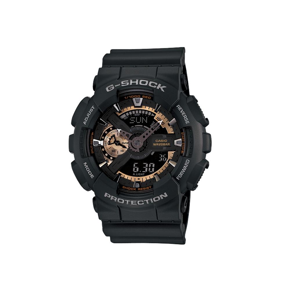 【7月19日-26日限定★エントリーでポイント5倍】ジーショック G-SHOCK 腕時計 (ローズゴールドシリーズ)110Mウォッチ GA-110RG-1AJF  ギフトラッピング無料