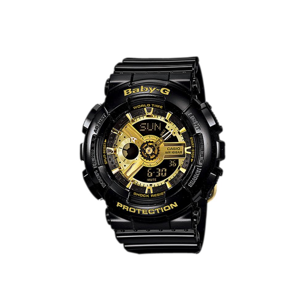 ベイビージー BABY-G 腕時計 110アナデジ Lウォッチ BA-110-1AJF  ギフトラッピング無料 ラッキーシール対応