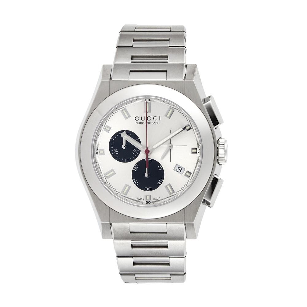【7月19日-26日限定★エントリーでポイント5倍】グッチ GUCCI 腕時計 パンテオンクロノMウォッチ YA115236  ギフトラッピング無料