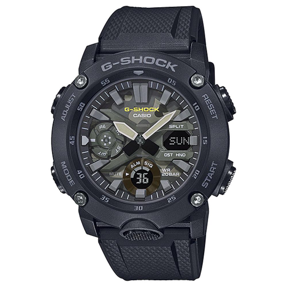 ジーショック G-SHOCK 腕時計 カーボンコアガード アナデジMウォッチ GA-2000SU-1AJF  ギフトラッピング無料 ラッキーシール対応