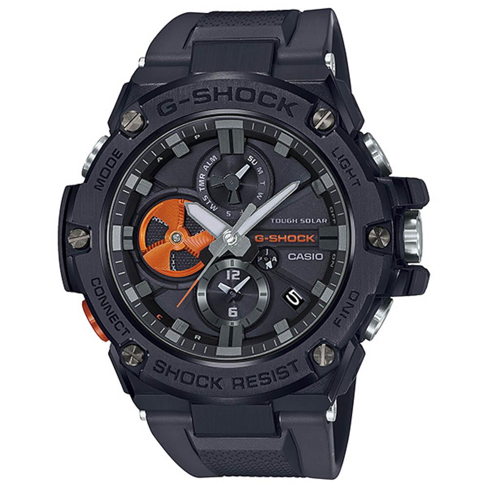 ジーショック G-SHOCK 腕時計 G-STEEL BLACK×High Tech Accent Mウォッチ GST-B100B-1A4JF  ギフトラッピング無料 ラッキーシール対応
