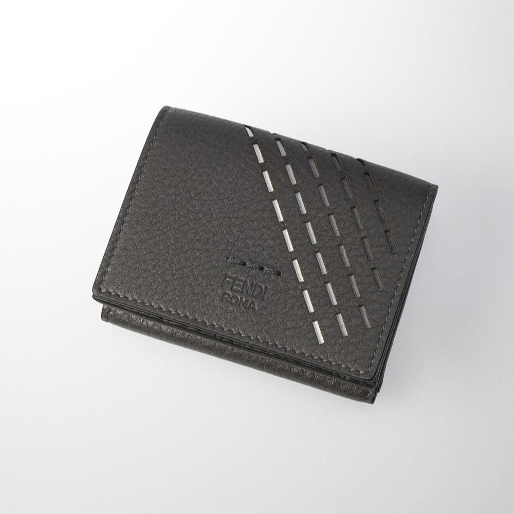 フェンディ FENDI ミニサイフ DEGRADE STITCHING三折TINY 7M0280-A9ZF  ギフトラッピング無料