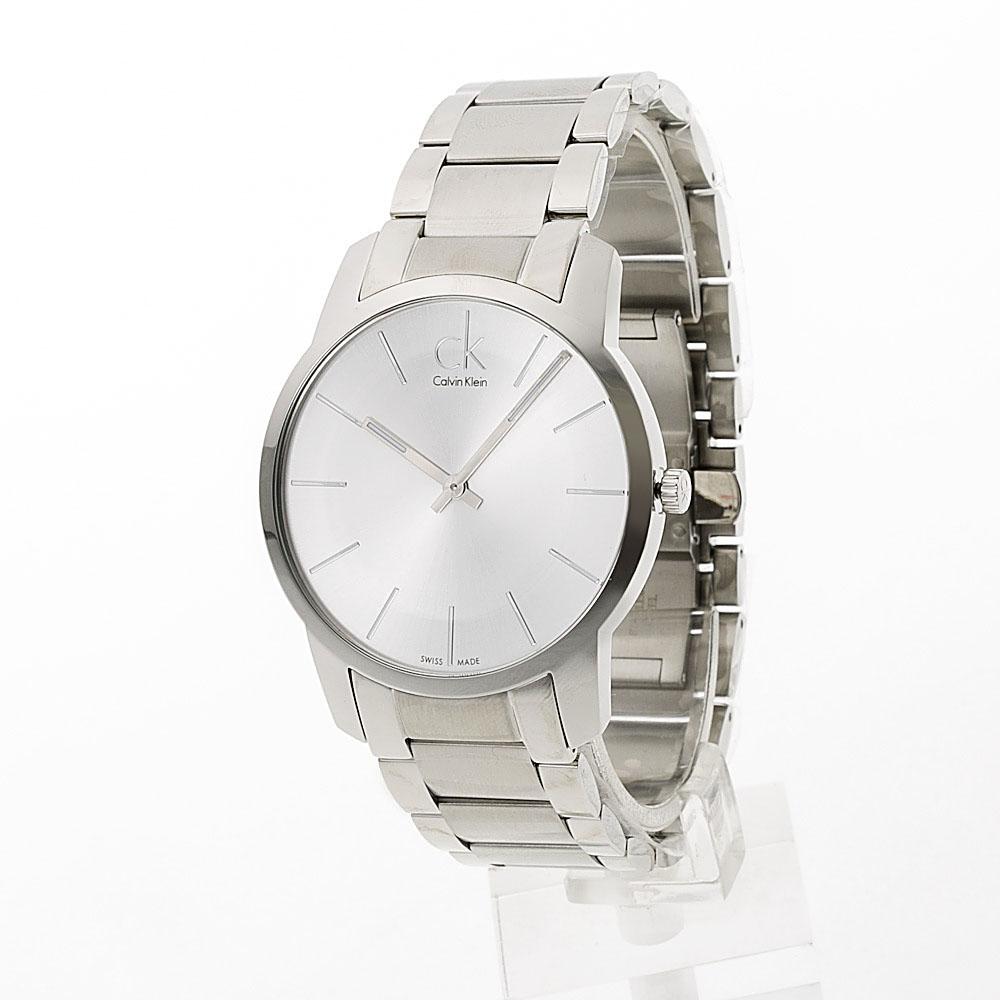 【7月19日-26日限定★エントリーでポイント5倍】カルバンクライン Calvin Klein 腕時計 CITYラウンドステンレスベルトMウォッチ K2G21126  ギフトラッピング無料