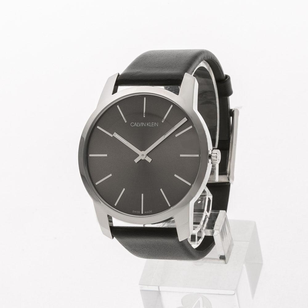 【7月19日-26日限定★エントリーでポイント5倍】カルバンクライン Calvin Klein 腕時計 CITYラウンドレザーベルトMウォッチ K2G21107  ギフトラッピング無料