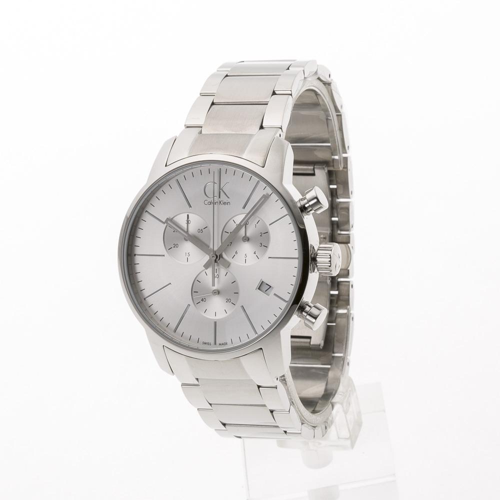 カルバンクライン Calvin Klein 腕時計 CITYラウンドクロノステンレスMウォッチ K2G27146  ギフトラッピング無料 ラッキーシール対応
