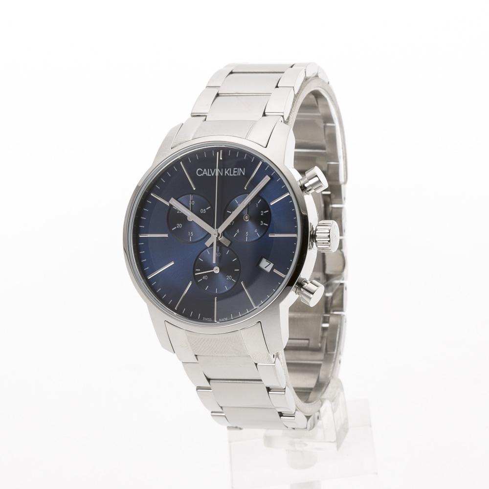 カルバンクライン Calvin Klein 腕時計 CITYラウンドクロノステンレスMウォッチ K2G2714N  ギフトラッピング無料 ラッキーシール対応