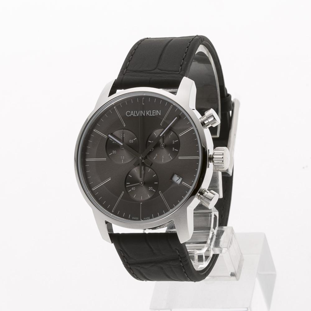 カルバンクライン Calvin Klein 腕時計 CITYラウンドクロノレザーMウォッチ K2G271C3  ギフトラッピング無料 ラッキーシール対応