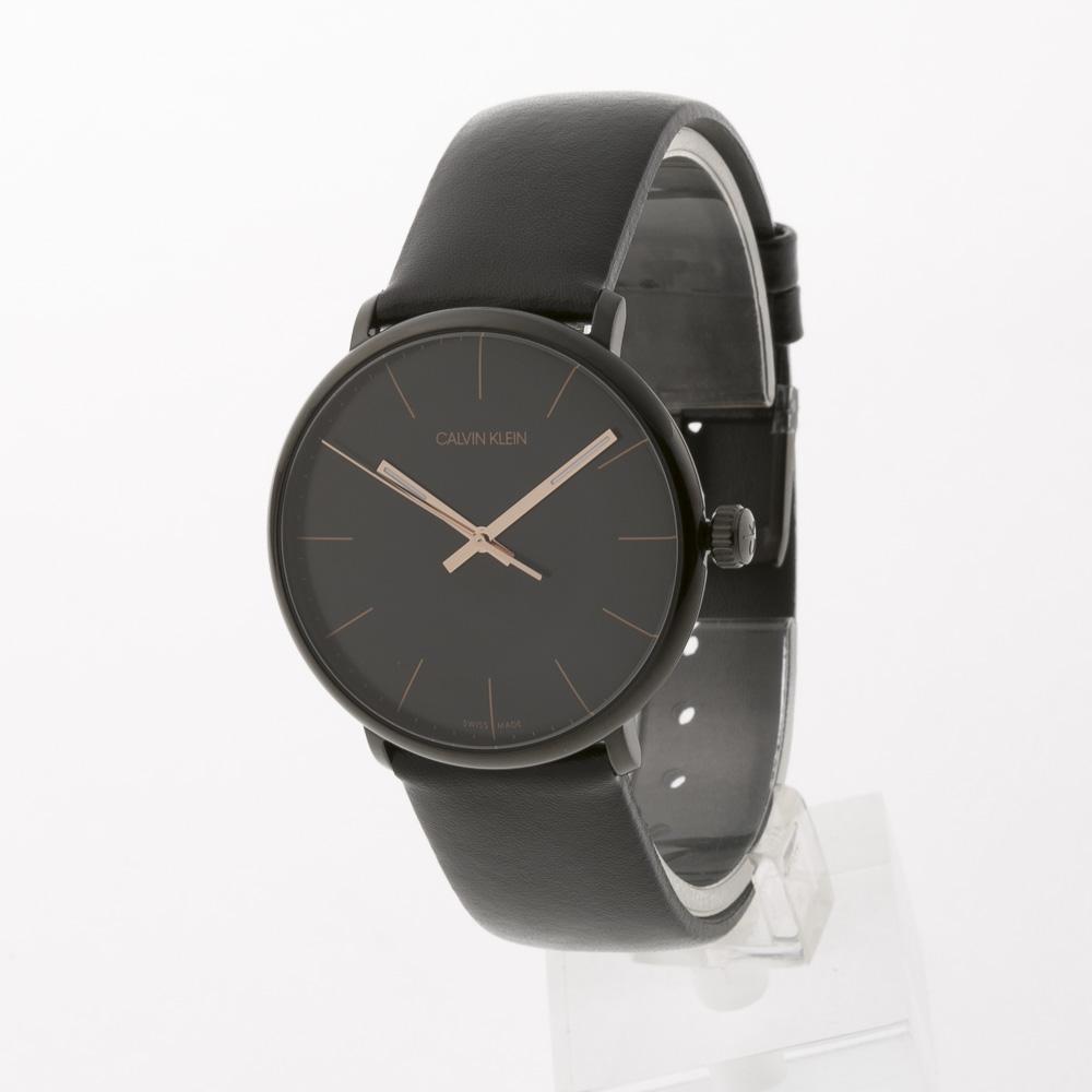 カルバンクライン Calvin Klein 腕時計 HIGH NOONラウンドレザーMウォッチ K8M214CB  ギフトラッピング無料 ラッキーシール対応
