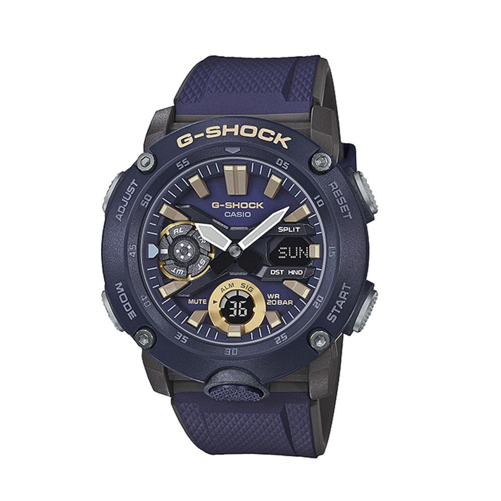 ジーショックカシオ G-SHOCK CASIO 腕時計 カーボンコアガード アナデジMウォッチ GA-2000-2AJF  ギフトラッピング無料 ラッキーシール対応