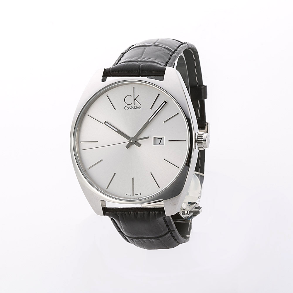 カルバンクライン Calvin klein 腕時計 エクスチェンジMウォッチ K2F21120 BK WH QZ 41 ブラック/コンビ 0 ギフトラッピング無料 ラッキーシール対応