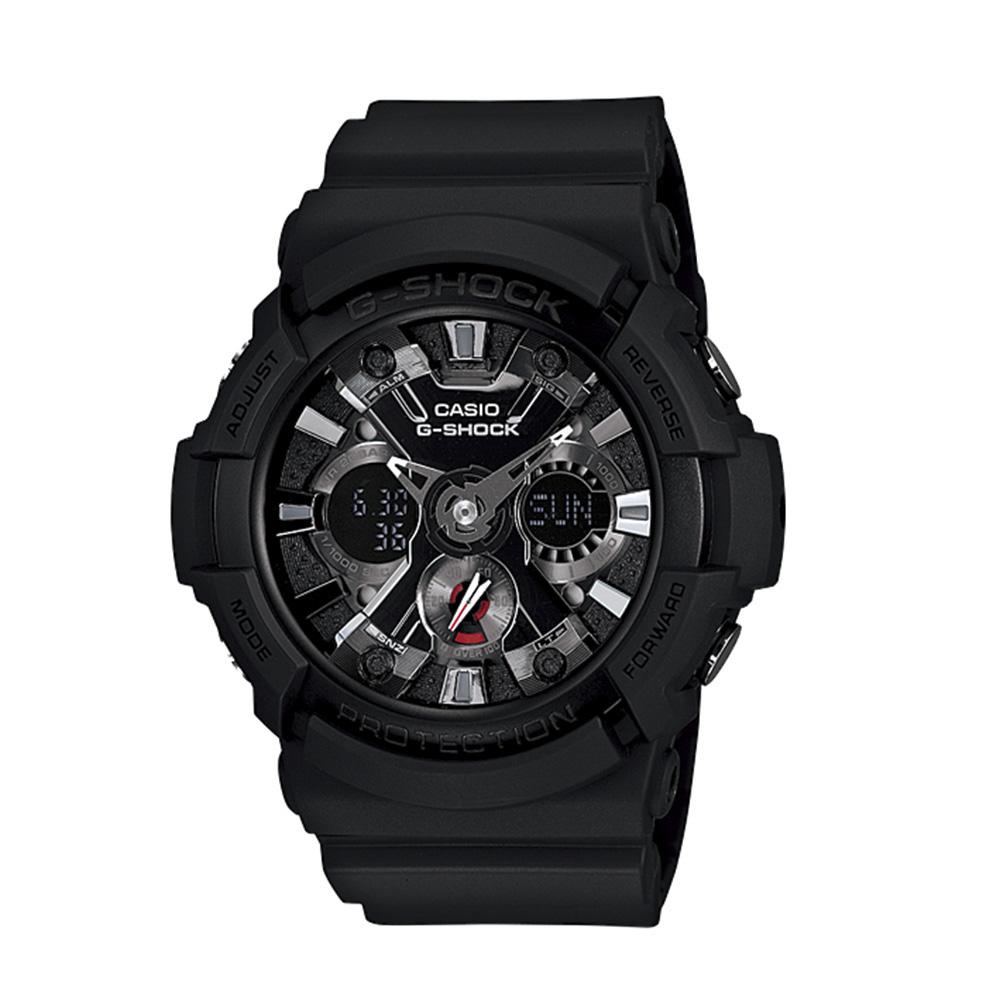 【5月8日-11日★5%OFFクーポン配布中】ジーショック G-SHOCK 腕時計 (201)アナデジMウォッチ GA-201-1AJF  ギフトラッピング無料 ラッキーシール対応