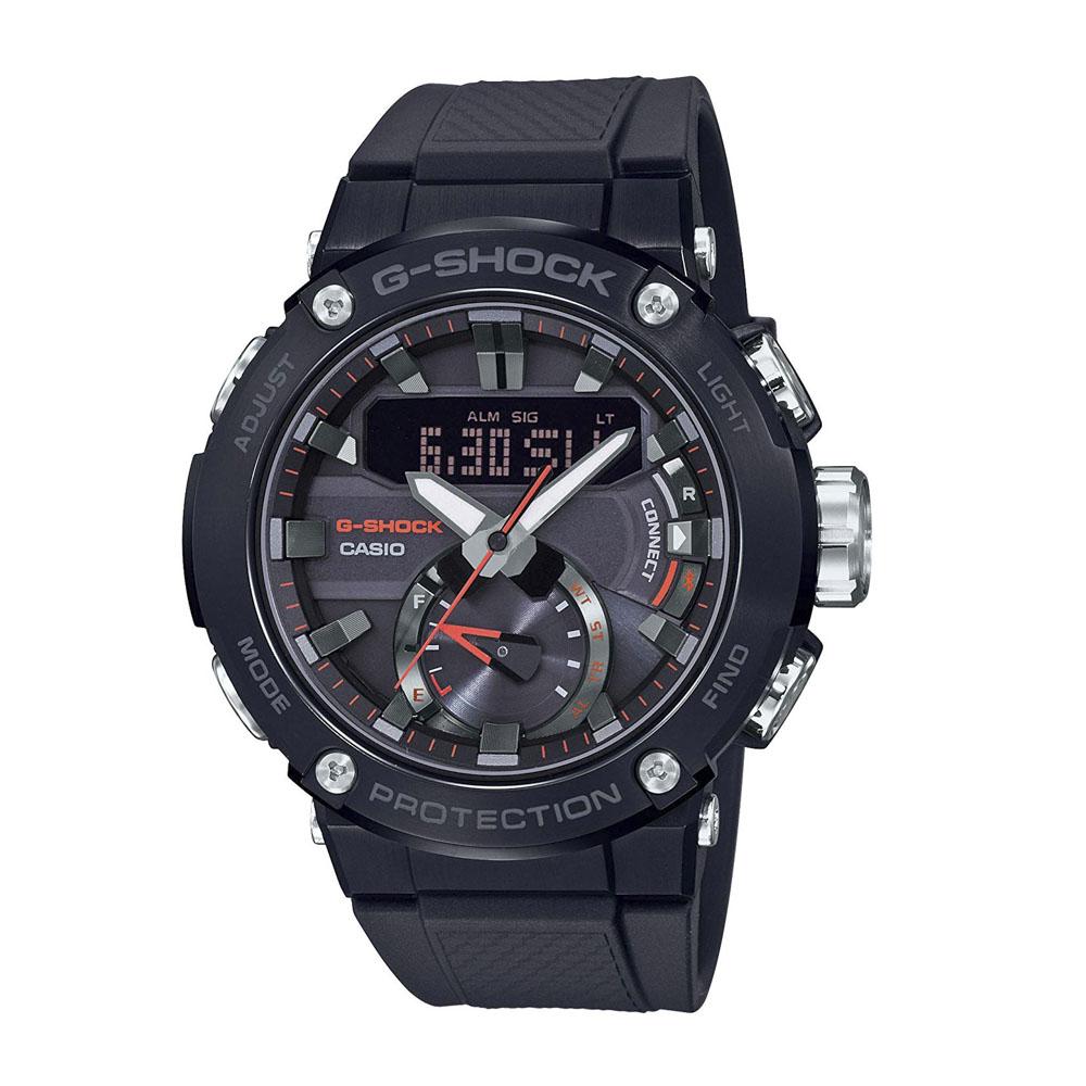 ジーショックカシオ G-SHOCK CASIO 腕時計 G-STEEL BluetoothソーラーM GST-B200B-1AJF ブラック 0 ギフトラッピング無料 ラッキーシール対応