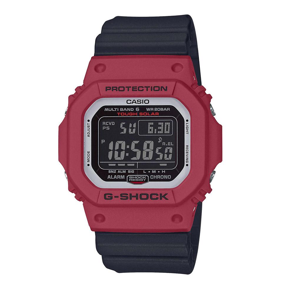 【7月19日-26日限定★エントリーでポイント5倍】ジーショックカシオ G-SHOCK CASIO 腕時計 (M5610)マルチ6電波ソーラーMウォッチ GW-M5610RB-4JF/91 ブラック/レッド 0 ギフトラッピング無料