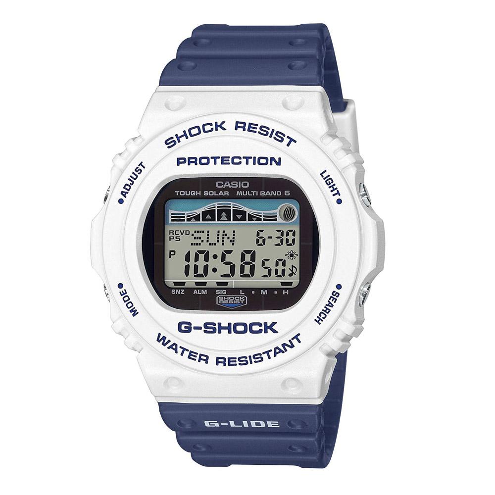 ジーショックカシオ G-SHOCK CASIO 腕時計 G-LIDEマルチ6電波ソーラーMウォッチ GWX-5700SS-7JF ブルー/ホワイト 0 ギフトラッピング無料 ラッキーシール対応