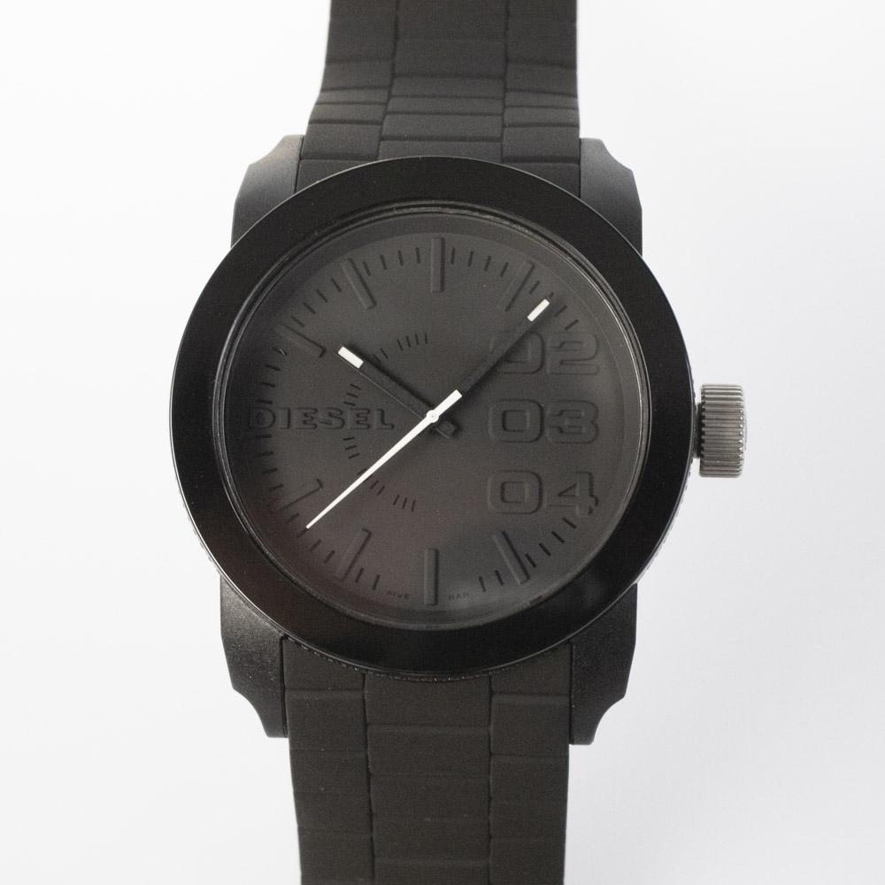 ディーゼル DIESEL 腕時計 ラウンドラバーベルトMウォッチ DZ1437  ギフトラッピング無料 ラッキーシール対応