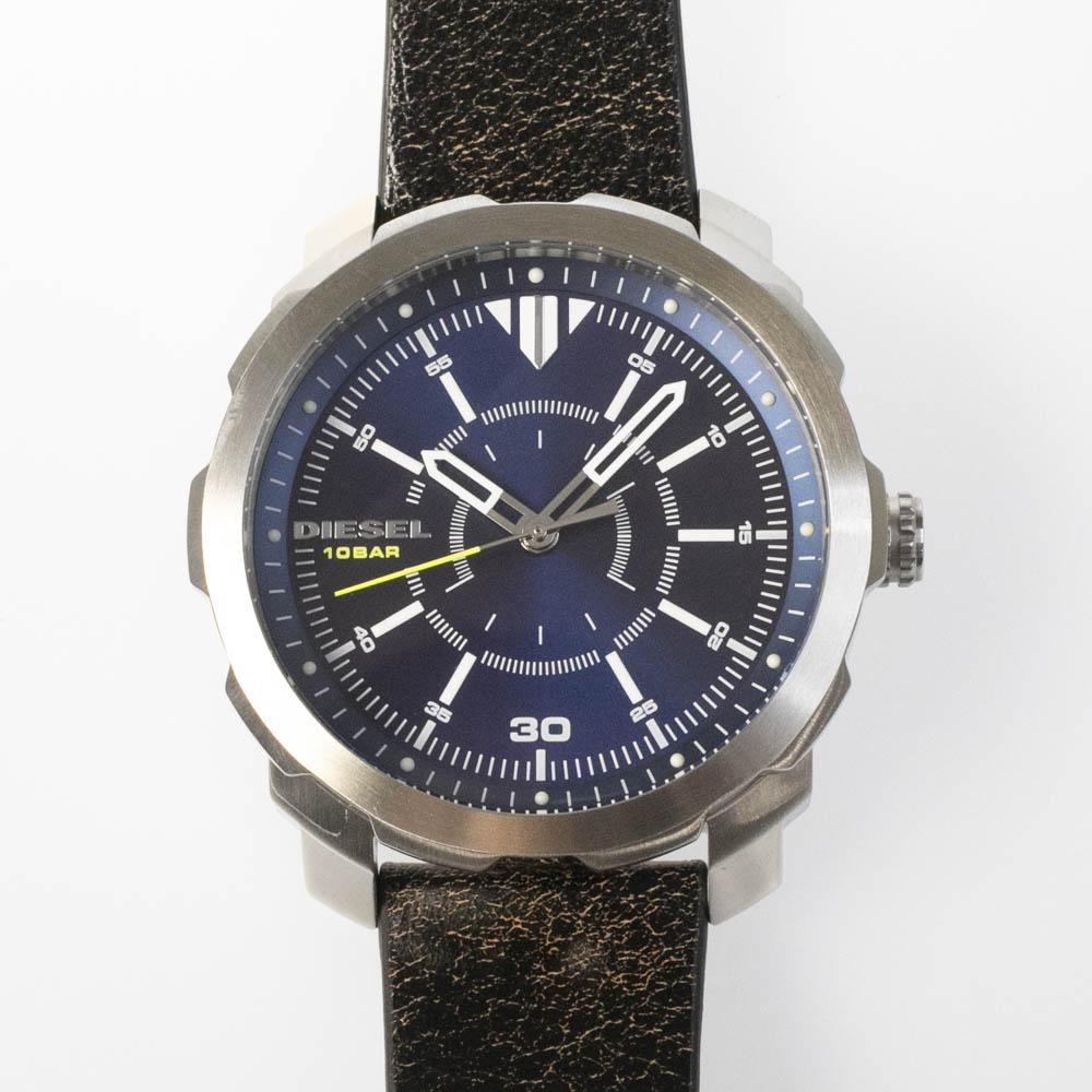 ディーゼル DIESEL 腕時計 DIE・17S MACHINUSレザーベルトMウォッチ DZ1787  ギフトラッピング無料 ラッキーシール対応