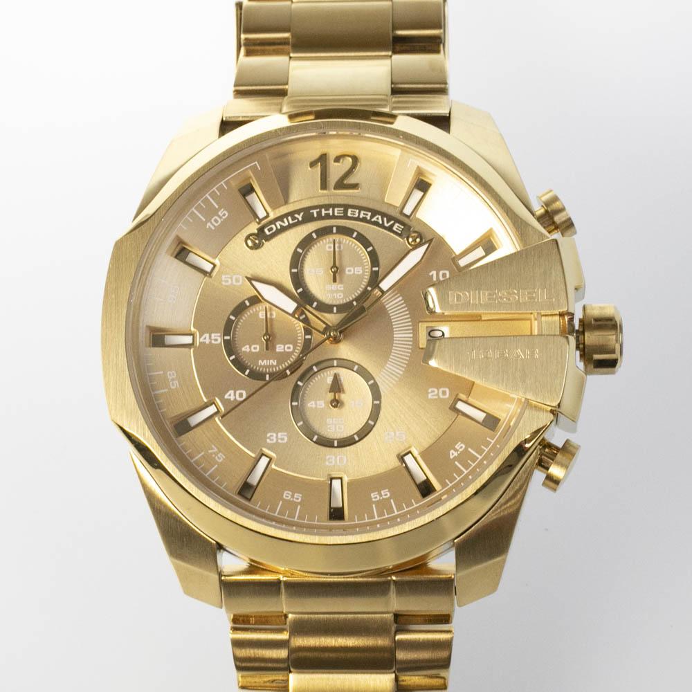 ディーゼル DIESEL 腕時計 DIE・17A MEGA-CHIEFクロノメタルMウォッチ DZ4360  ギフトラッピング無料 ラッキーシール対応