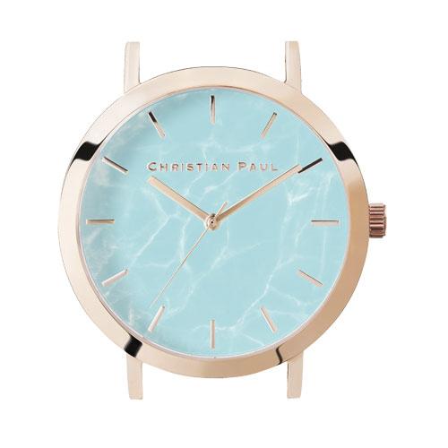 クリスチャンポール Christian Paul 腕時計ヘッド MARBLE 35mm L ベルト別売 MAR-AQA-RG-35  ギフトラッピング無料 ラッキーシール対応