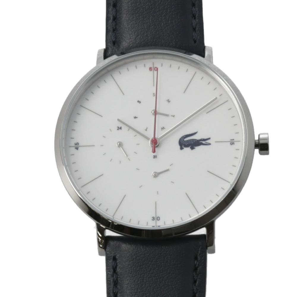 【7月19日-26日限定★エントリーでポイント5倍】ラコステ LACOSTE 腕時計 MOON ULTRA SLIM 40mmレザーMウォッチ 2010975  ギフトラッピング無料