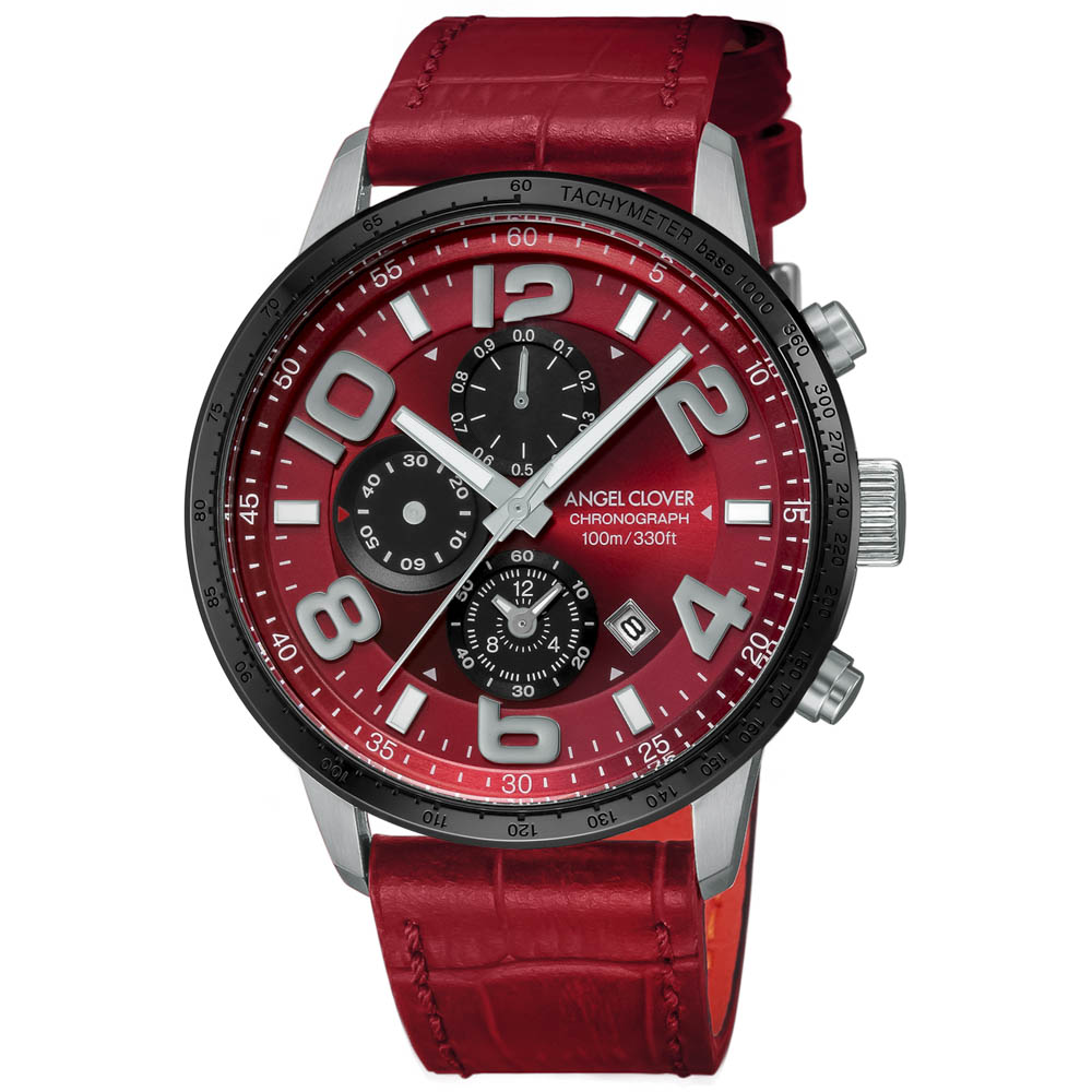【7月19日-26日限定★エントリーでポイント5倍】エンジェルクローバー ANGEL CLOVER 腕時計 ACL・17A LUCE レザーベルトMウォッチ LU44SRE-RE  ギフトラッピング無料