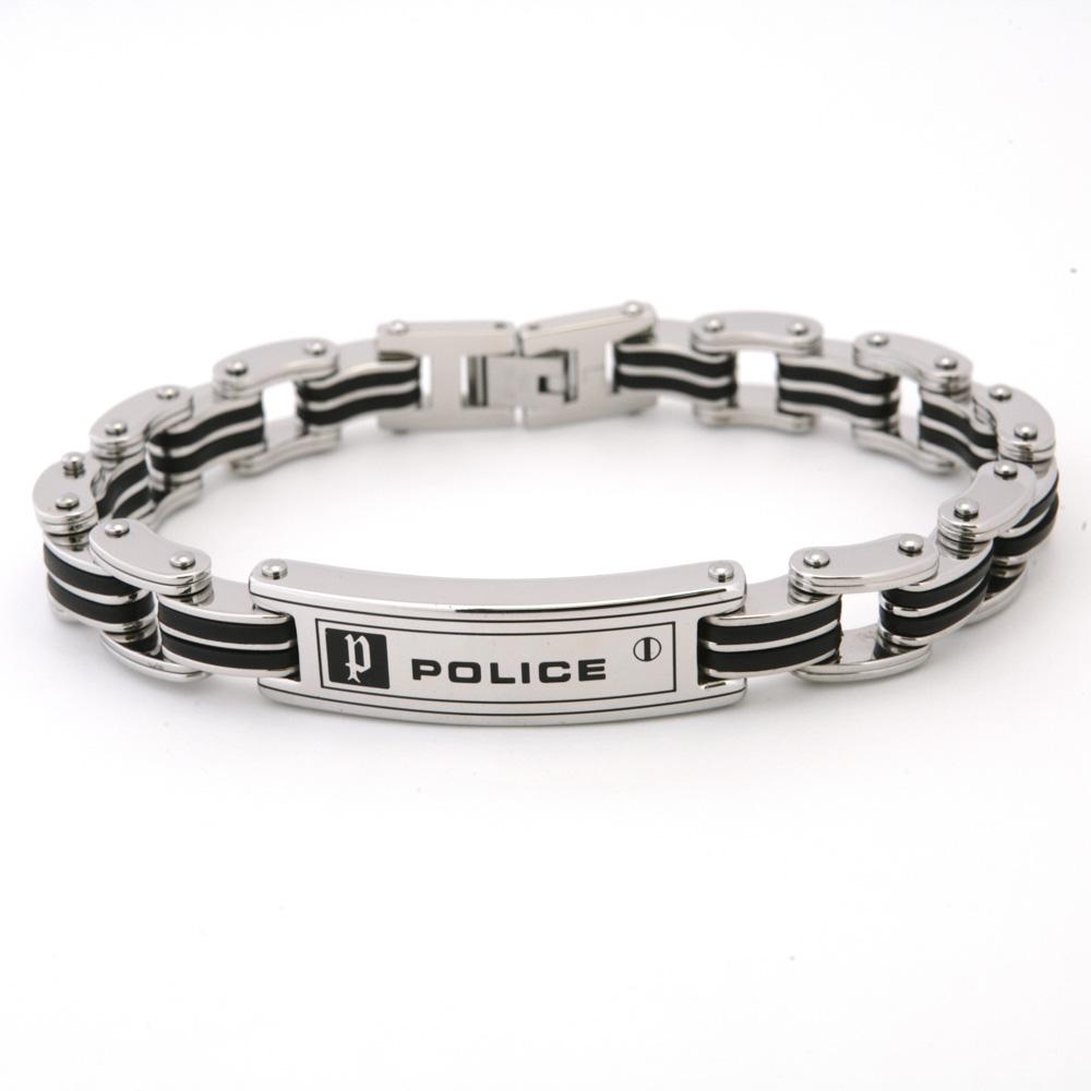 トレンド ポリス 直営限定アウトレット POLICE ブレスレット CARB ギフトラッピング無料 ブレス 24919BSB-01