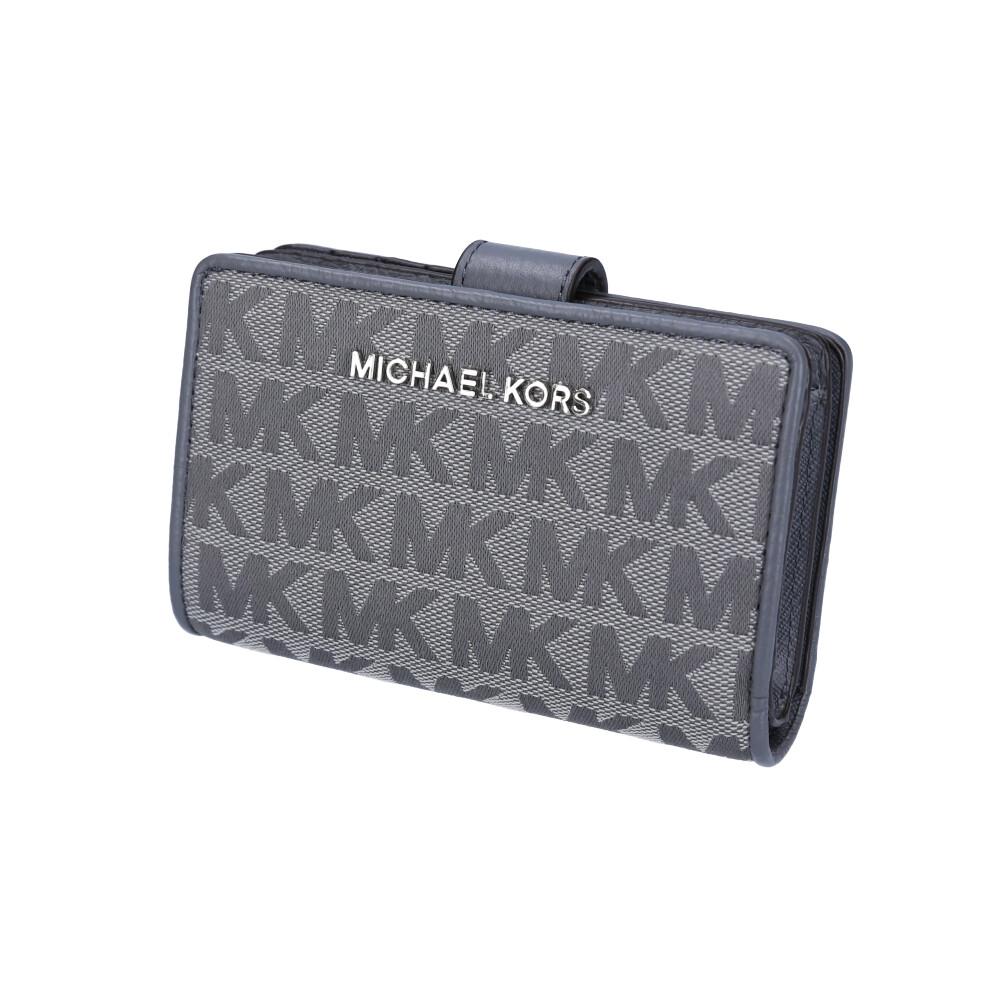 マイケルコース MICHAEL KORS 折財布 キャンバスシグネ中間L字F 35T9STVF2J  ギフトラッピング無料
