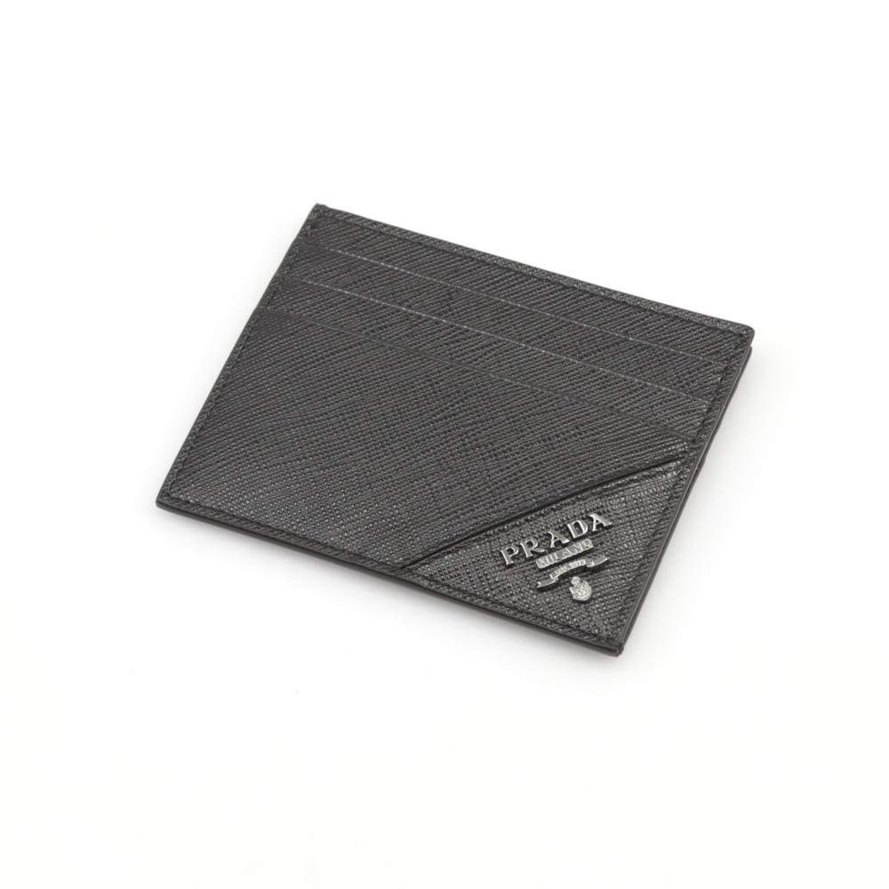 プラダ PRADA SAF.METALマチ無カードケース/NERO 2MC223-QME  ギフトラッピング無料 ラッキーシール対応