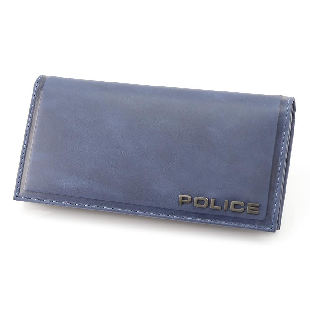 【5月4日-7日★ポイント5倍】POLICE ポリス エッジ POL58001-73/N/62 ネイビーブルー  ギフトラッピング無料 ラッキーシール対応