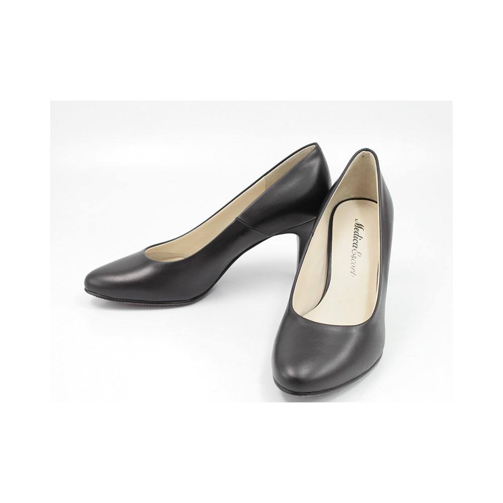 婦人靴 【メディカエスコート】靴 レディースシューズ 6003 プレーンパンプス レディース ブラック  ギフトラッピング無料 ラッキーシール対応