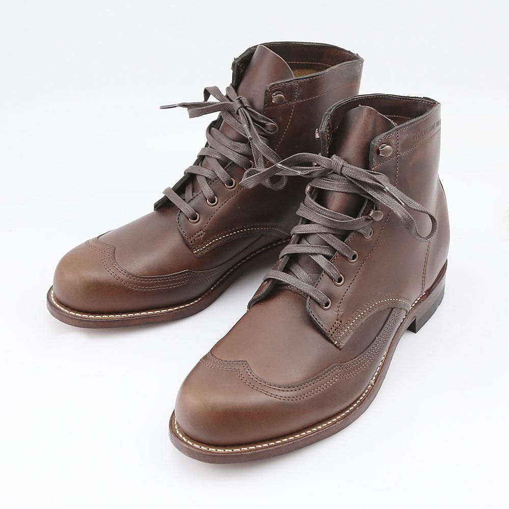 【5月4日-7日★ポイント5倍】ウルヴァリン WOLVERINE ブーツ 1000MILE WINGTIP BOOT W05342  ギフトラッピング無料 ラッキーシール対応
