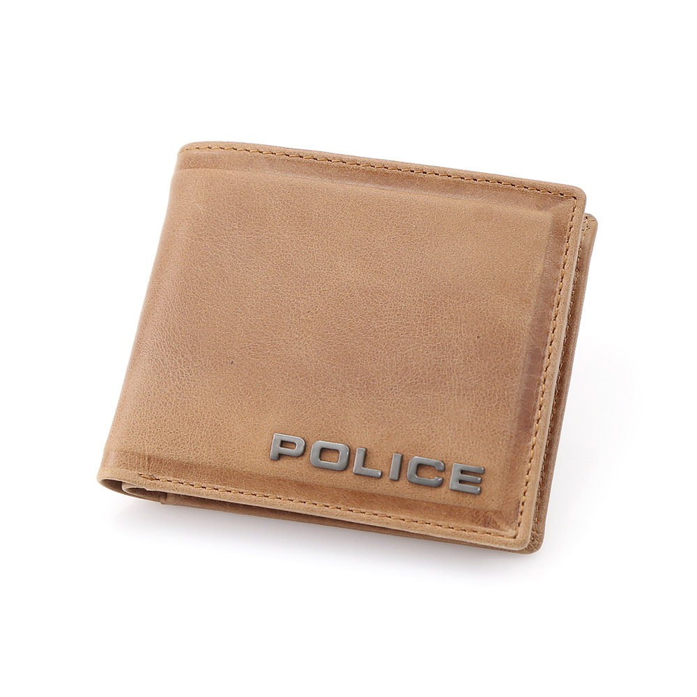【5月4日-7日★ポイント5倍】POLICE ポリス エッジ POL58000-23/O/34 キャメル  ギフトラッピング無料 ラッキーシール対応