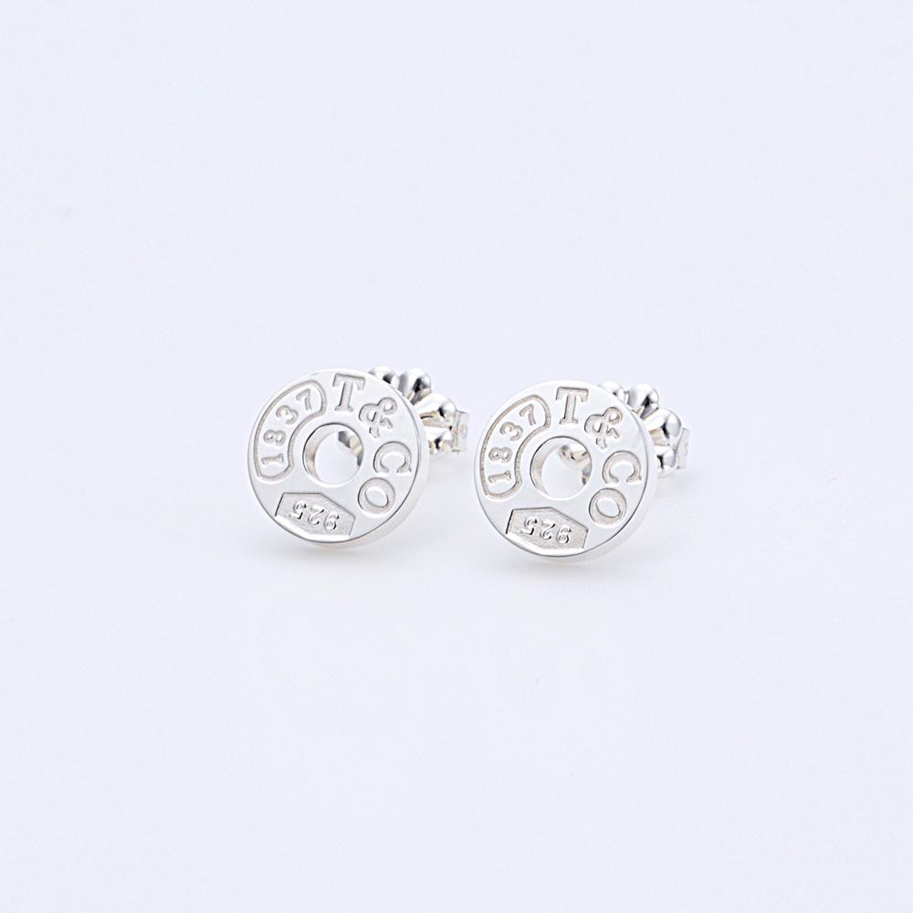 ティファニー【Tiffany & Co.】ピアス 19710424  1837 サークルスタッド  シルバー  ギフトラッピング無料