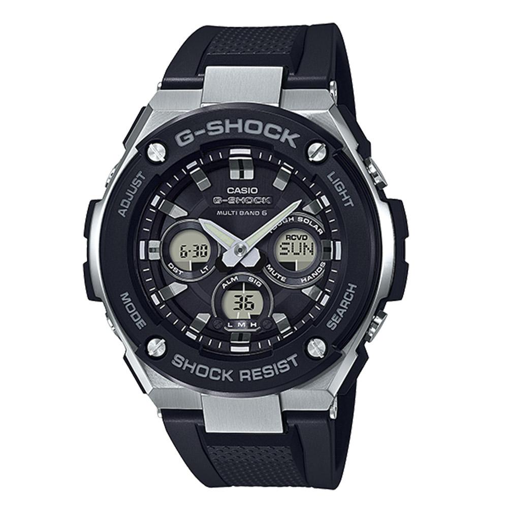 【7月19日-26日限定★エントリーでポイント5倍】G-SHOCK CASIO ジーショックカシオ 腕時計 アナデジ電波ソーラー GST-W300-1AJF 0 ギフトラッピング無料