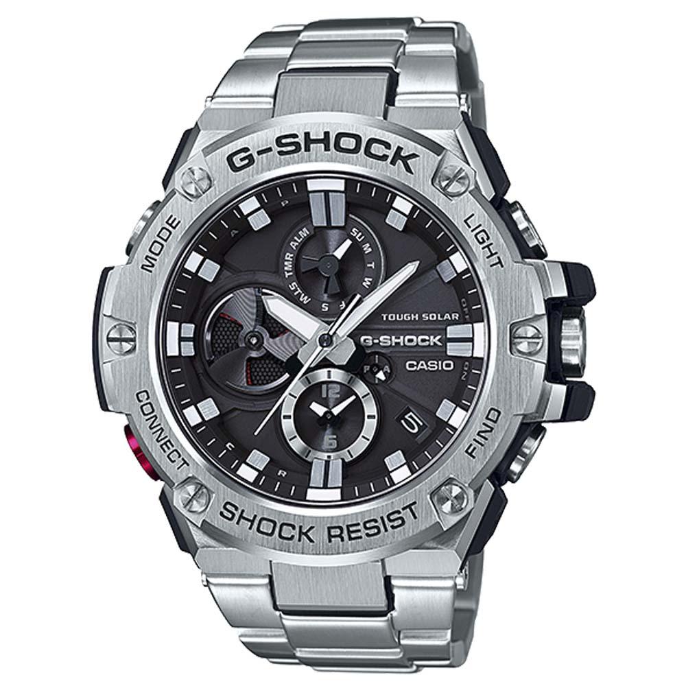 【7月19日-26日限定★エントリーでポイント5倍】G-SHOCK CASIO ジーショックカシオ 腕時計 Bluetoothソーラー GST-B100D-1AJF 0 ギフトラッピング無料