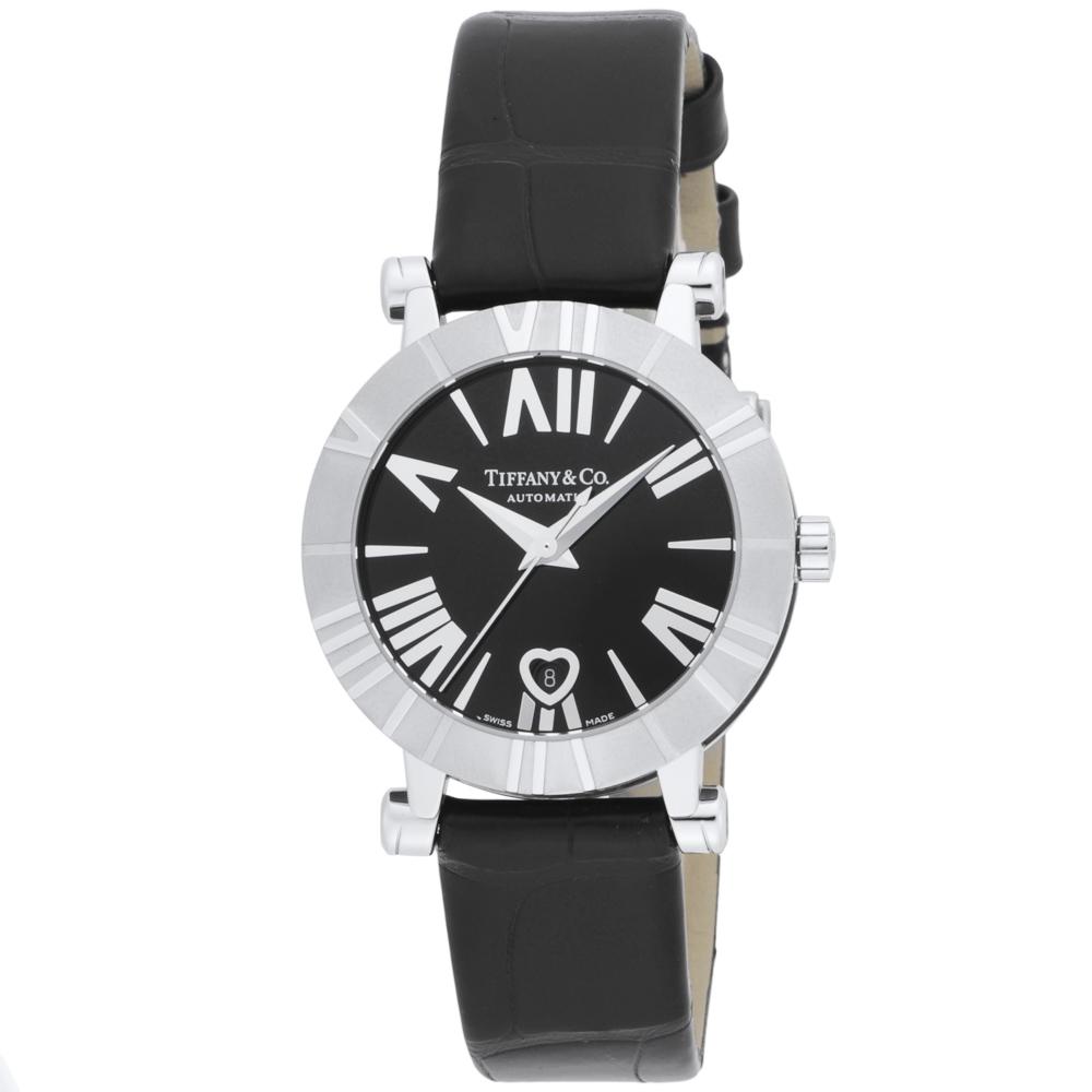 ティファニー TIFFANY 腕時計 ATLAS LADY 30 Lウォッチ AT Z13006811A10A71A/A41 ブラック/コンビ  ギフトラッピング無料 ラッキーシール対応
