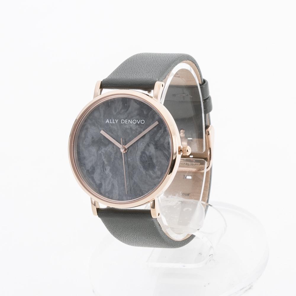 アリーデノヴォ ALLYDENOVO 腕時計 Marble 36mm レザーL AF5005.11  ギフトラッピング無料 ラッキーシール対応