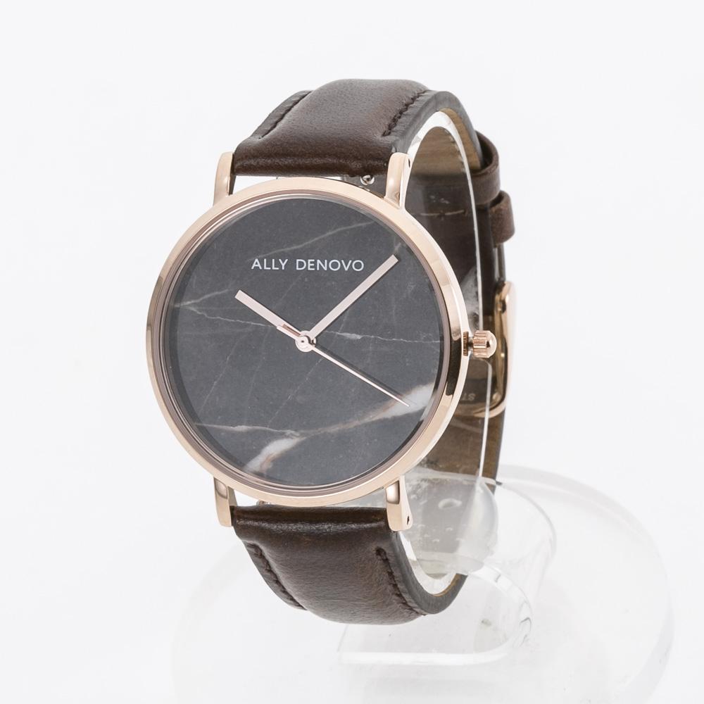 アリーデノヴォ ALLYDENOVO レディース 腕時計 Marble 36mm レザーL AF5005.12  ギフトラッピング無料 ラッキーシール対応