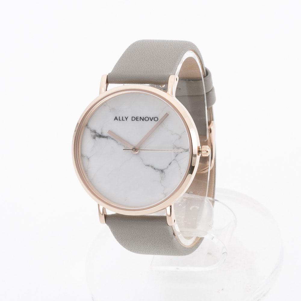 【7月19日-26日限定★エントリーでポイント5倍】アリーデノヴォ ALLYDENOVO 腕時計 Marble 36mm レザーL AF5005.7  ギフトラッピング無料