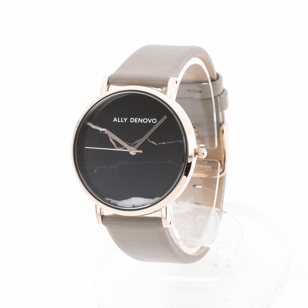 アリーデノヴォ ALLYDENOVO 腕時計 Marble 36mm レザーL AF5005.8  ギフトラッピング無料 ラッキーシール対応